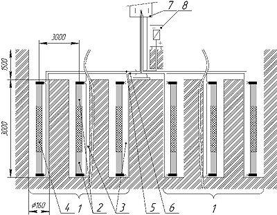 Анодный заземлитель типа ТДМ 10-18-1ПВ