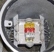 Контрольно измерительный пункт на газопроводе